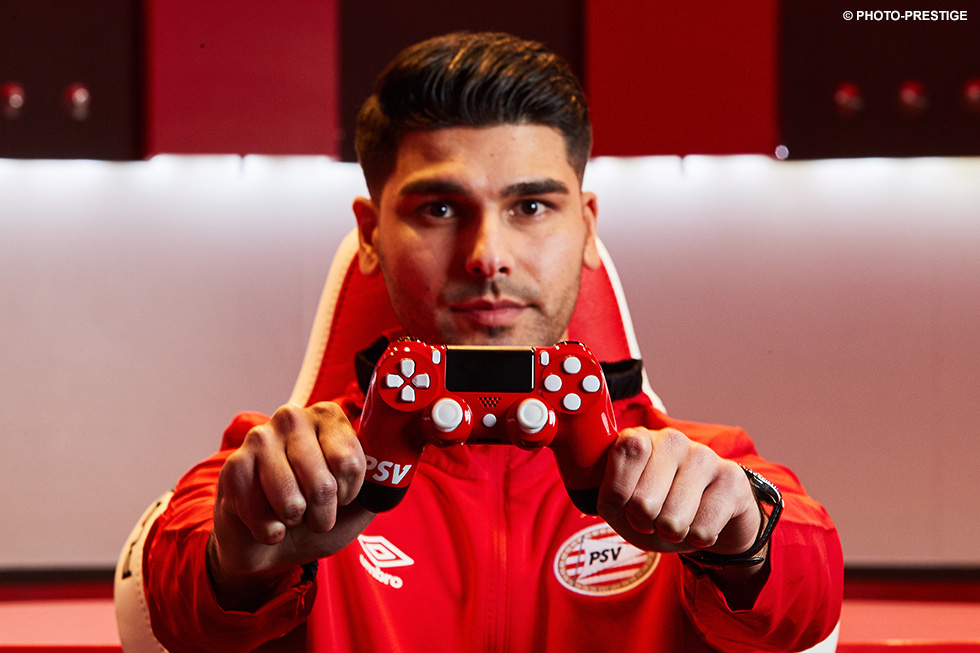 27-year-old Roman Abdi has become PSV's eSports athlete