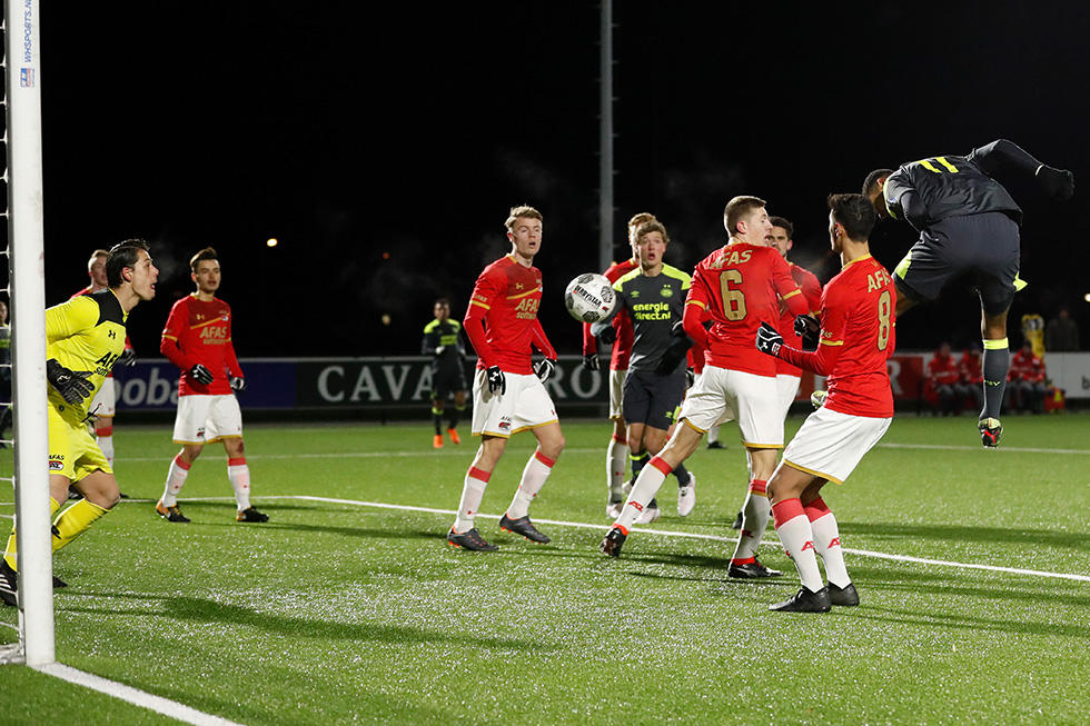 Cody Gakpo reduced the deficit for PSV U21 on Monday night