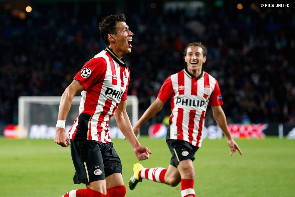 Luuk de Jong struck twice and Adam Maher added a third goal as PSV lifted  their first piece silverware in the new season. a434469ba