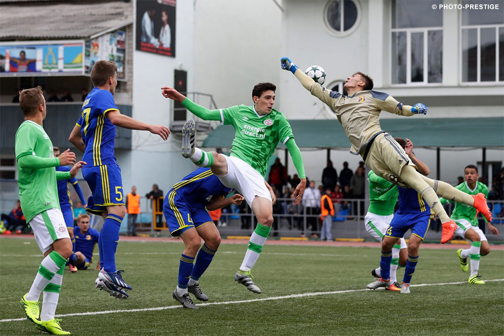 Sergei Aydarov was by far the busier of the two goalkeepers  bcb1fa173