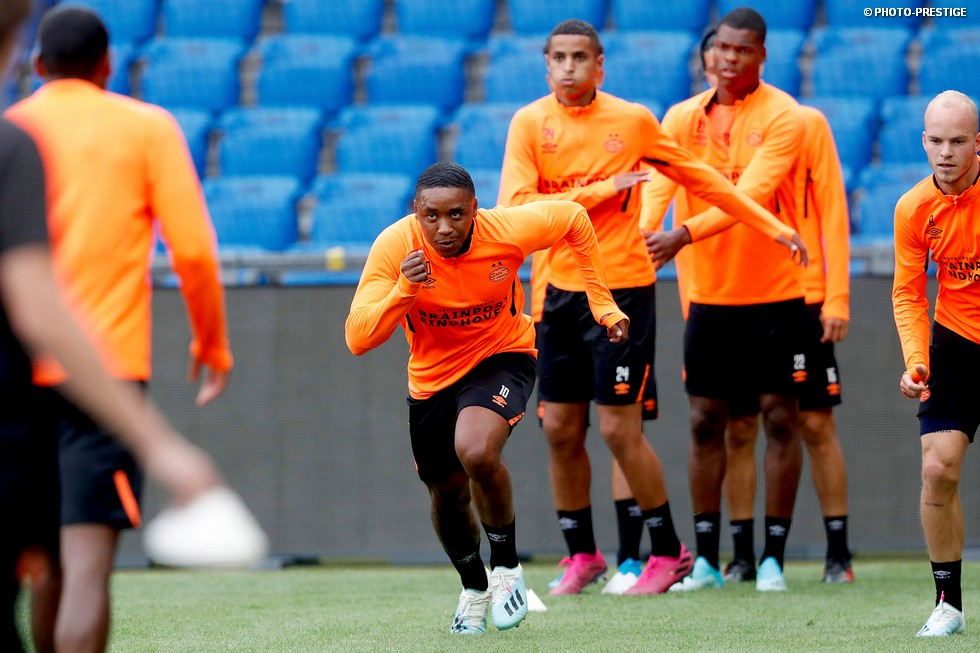Gallery: Monday evening training session
