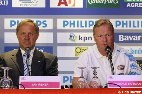 Jan Reker and Ronald Koeman looked ahead at the 2007/08 season at the annual press day.