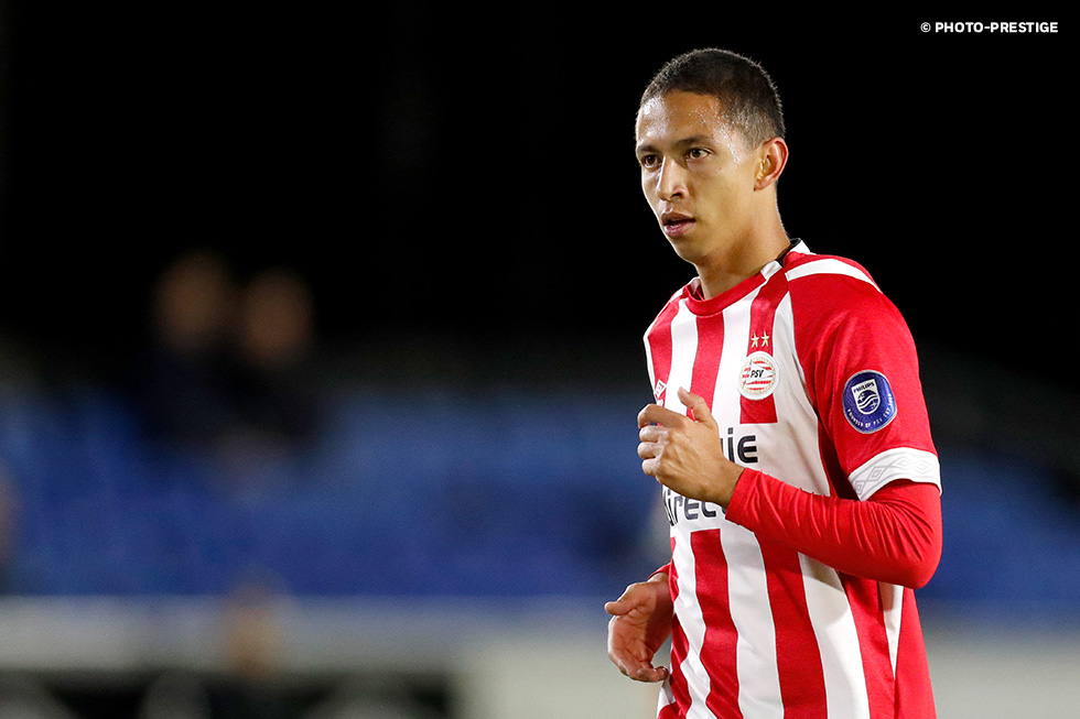 Mauro played one hour in PSV U21's 1-0 win over FC Volendam on Friday night