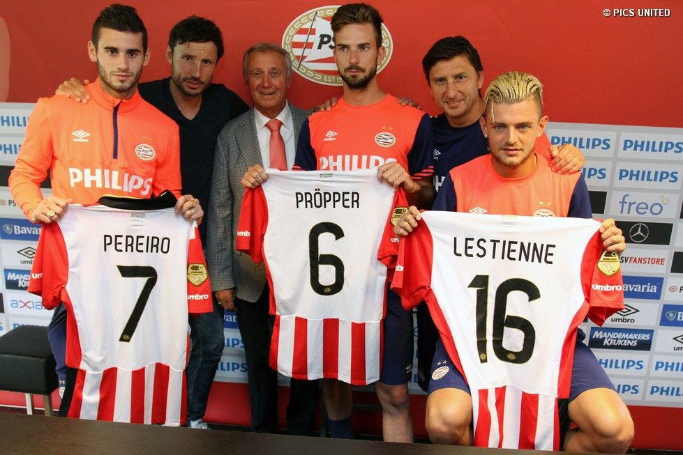 PSV bolstered the squad with the signing of Davy Pröpper and Maxime  Lestienne f7b07126f