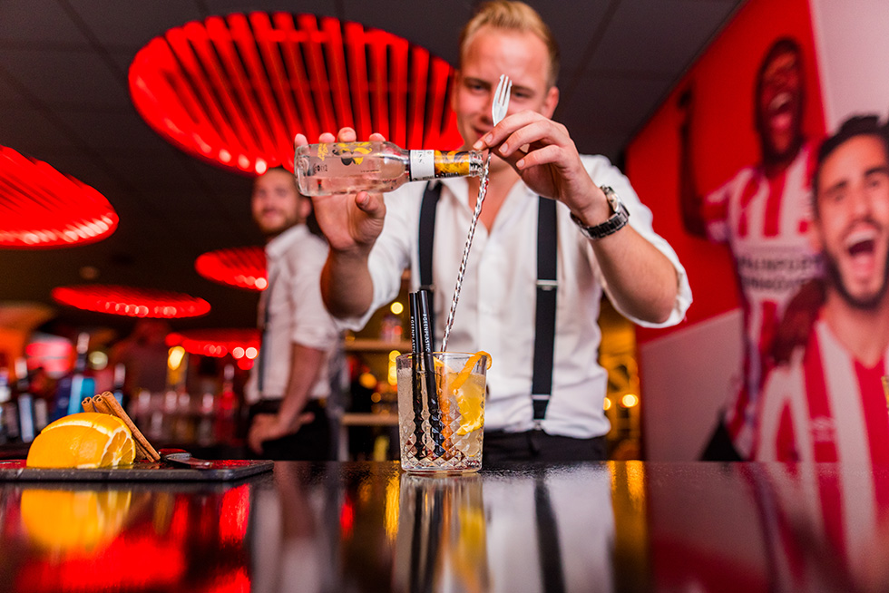 Genieten in de PSV Business Club