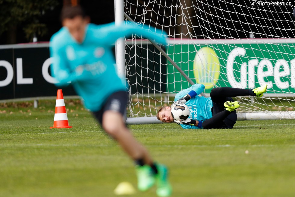 Wednesday training in pictures