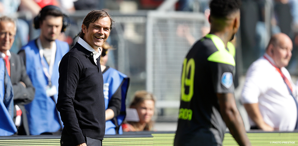 Phillip Cocu could not hide feelings of pride
