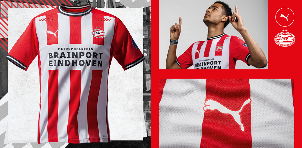 Official release PUMA PSV Home Kit 2020-2021