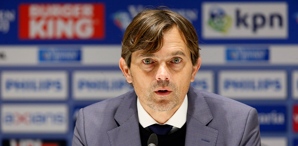 Phillip Cocu satisfied with first-half performance