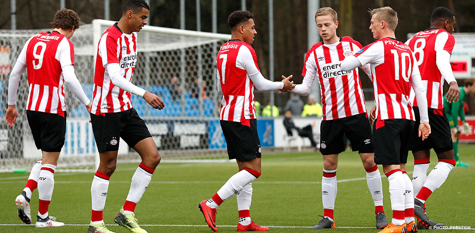 Malen scores hat-trick in PSV U21's 5-1 win over FC Oss