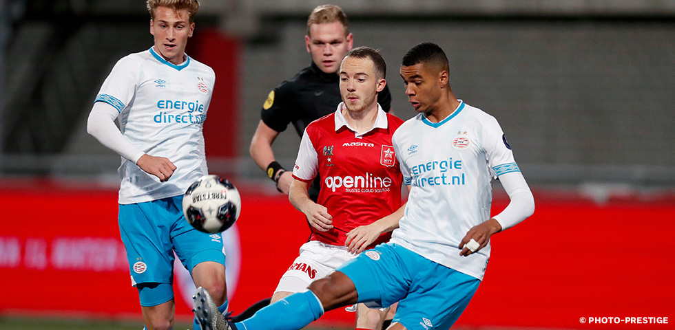 PSV U21 denied victory in dying seconds