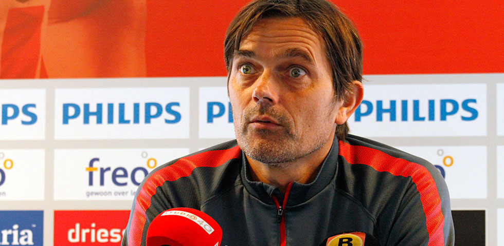 Cocu previews Willem II game