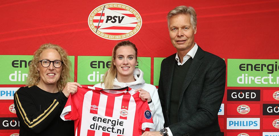 Thorvaldsdóttir versterkt PSV Vrouwen