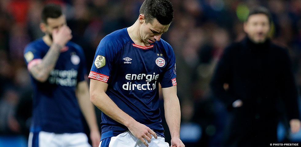PSV nl - PSV slip to first defeat of the season