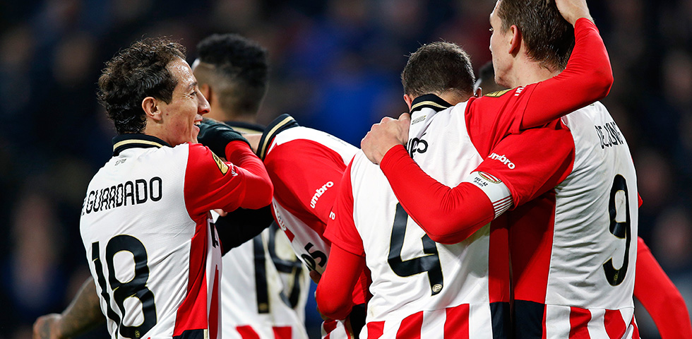 PSV cruise to a 3-0 win over AZ