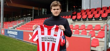 Herman Geelmuyden joins PSV U19