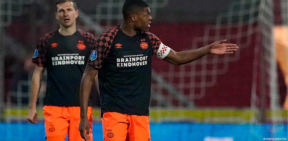 PSV held to a 1-1 draw by FC Emmen