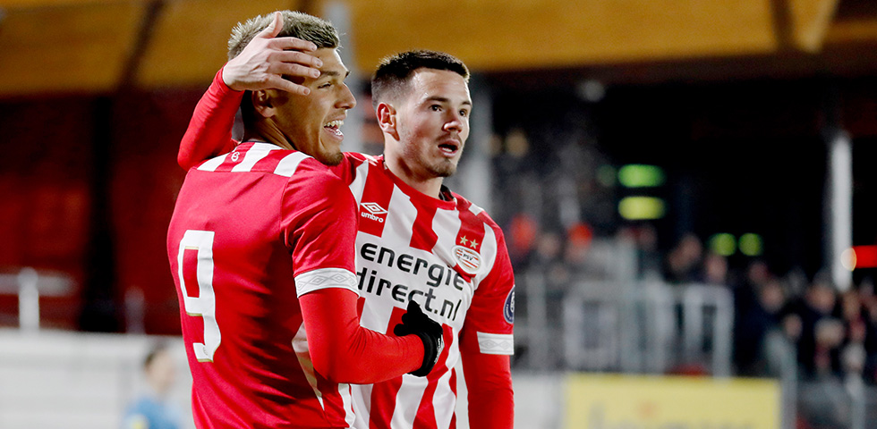 PSV U21 recover twice to salvage draw with MVV