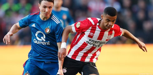 Two in-form sides meet in the Philips Stadion on Sunday