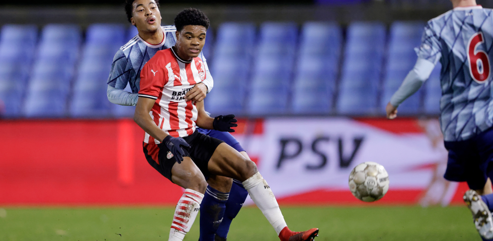 PSV U21 made to rue missed chances
