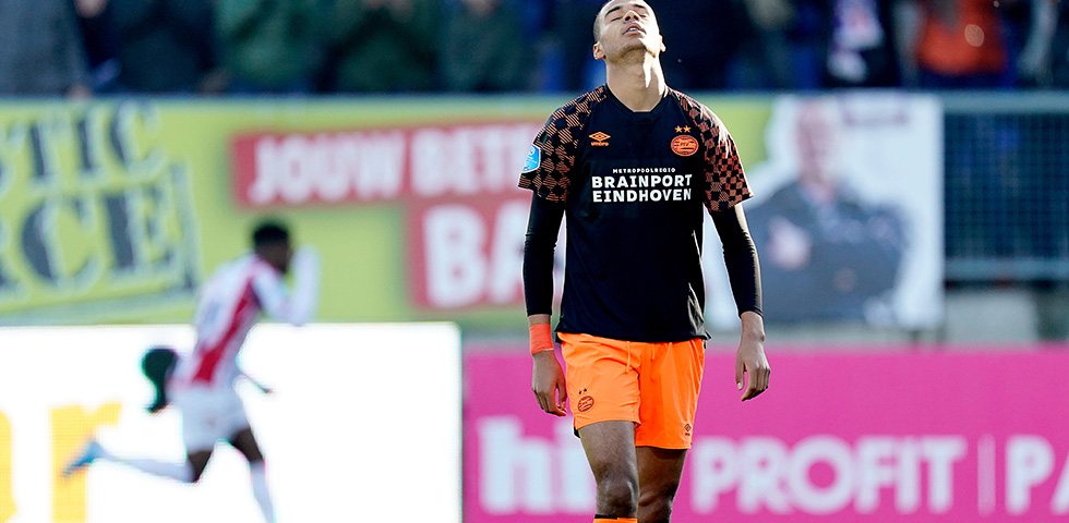 PSV continue to struggle after 2-1 defeat at Willem II