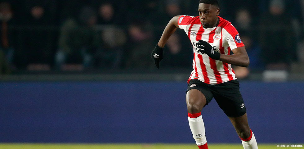 Luckassen replaces Hendrix as PSV take on Willem II