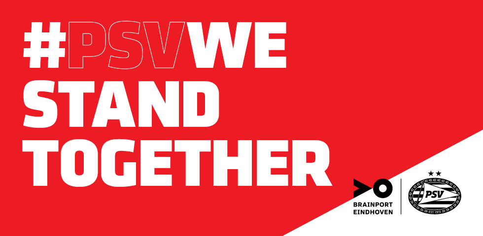 #PSVwestandtogether, juist nu
