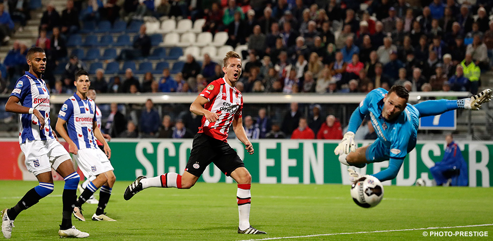 PSV unbeaten in 7 matches at home against sc Heerenveen