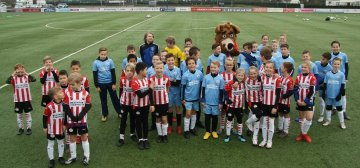 Kick-off PSV FUNdament bij VV Linne