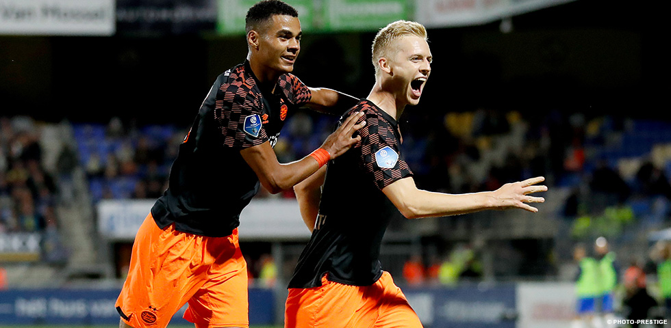 PSV come from behind to earn a 3-1 win against RKC