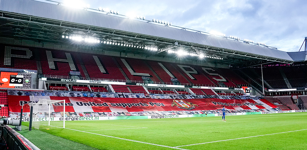 A limited number of fans allowed to attend PSV v FC Groningen