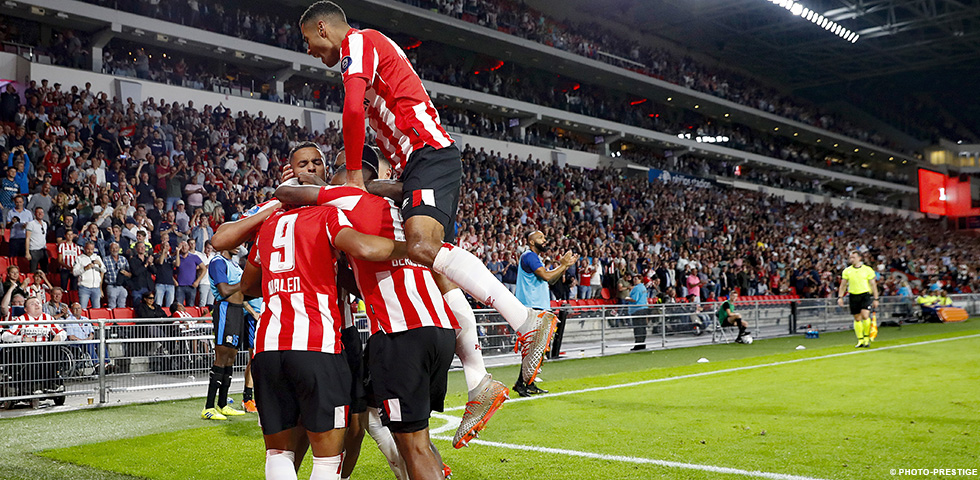 PSV zet stap richting groepsfase Europa League