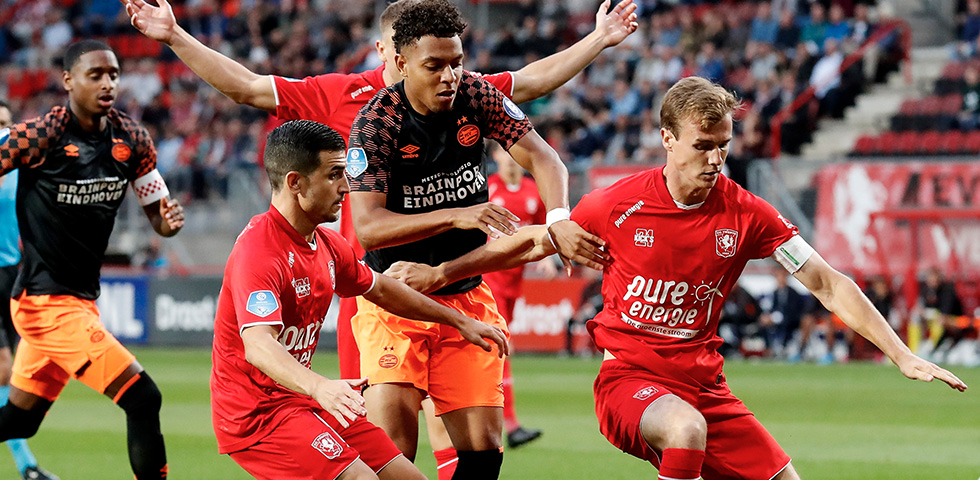 PSV held 1-1 by dogged FC Twente