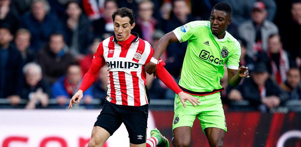 PSV suffer 2-0 home defeat against Ajax