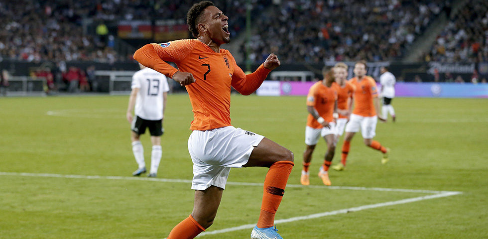 Malen marks Netherlands debut with a memorable goal