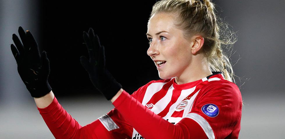 Vertrek Williams bij PSV Vrouwen
