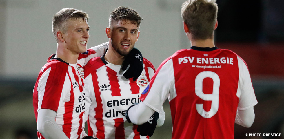 PSV U21 cruise past FC Eindhoven