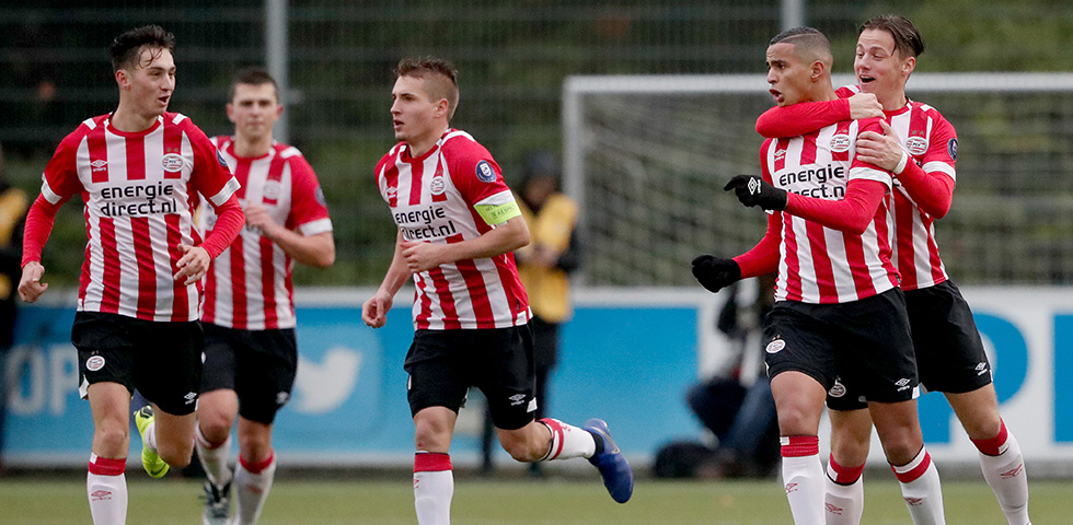 PSV O19 houdt hoop op knock-outfase Youth League