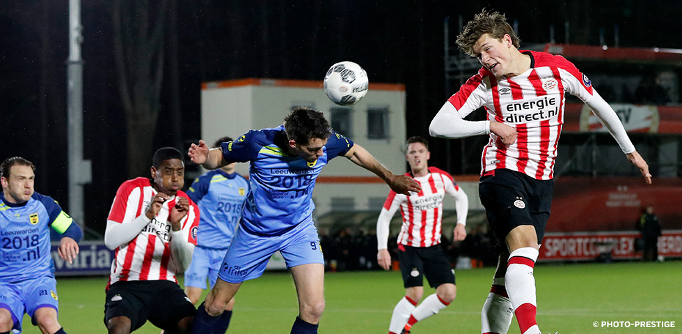 PSV U21 held to a 1-1 draw by SC Cambuur