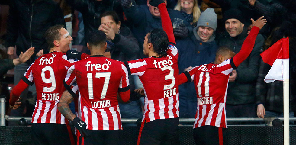 PSV claimed late 2-1 win against Willem II
