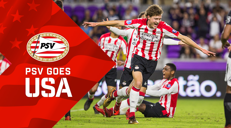 PSV and Corinthians share honours in 1-1 draw