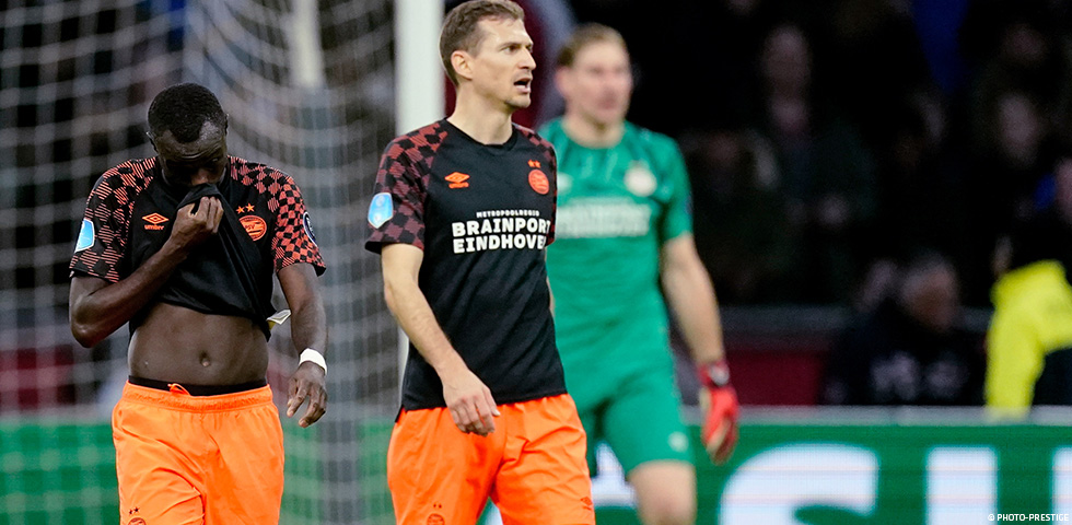 PSV suffer slender 1-0 defeat in the ArenA