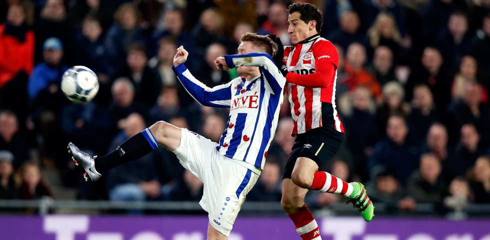 PSV's winning streak ended by sc Heerenveen