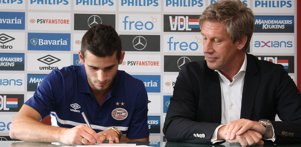 PSV complete Gastón Pereiro signing