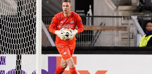 Robbin Ruiter leaves PSV to join Willem II