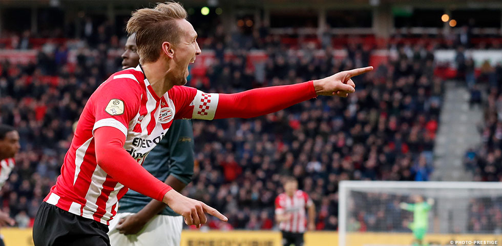 PSV record 5-0 win over ten-man Fortuna Sittard