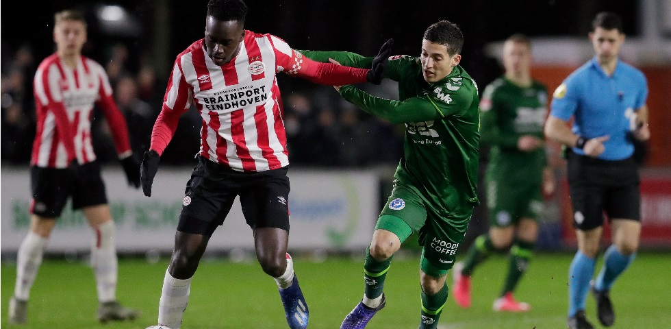 Jong PSV verliest in slotseconden