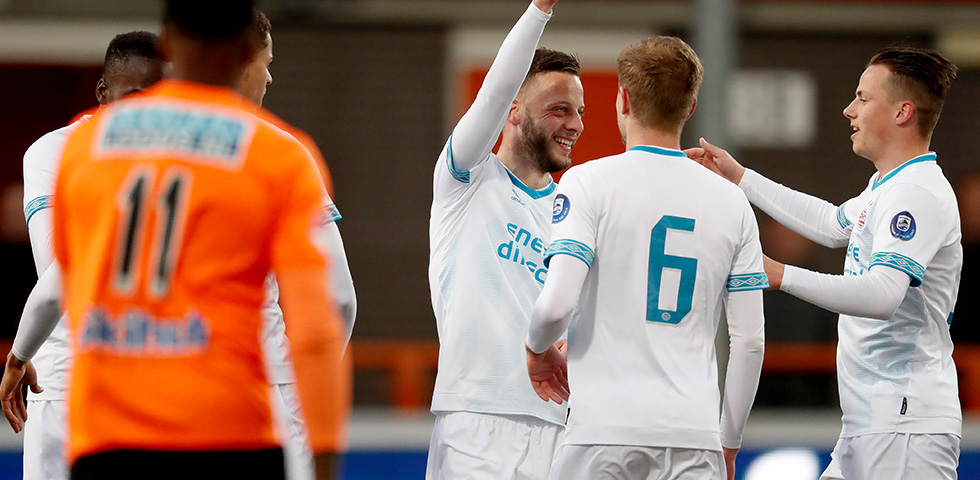 PSV U21 climb to fourth place after emphatic win in Volendam