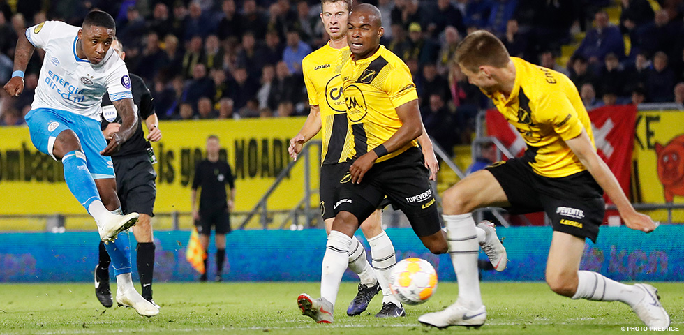 PSV look to extend unbeaten run against NAC Breda to 21