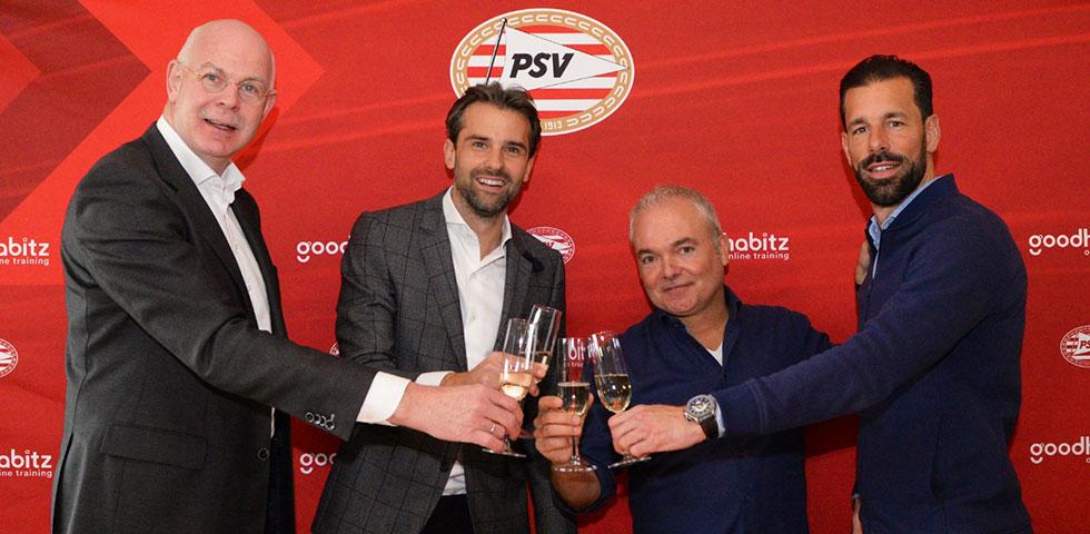 PSV.nl - GoodHabitz rugsponsor en Partner van PSV Goodhabitz